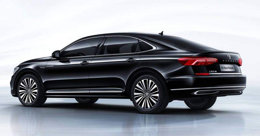 Volkswagen Passat NMS 2019 diperkenalkan di pasaran China – lebih besar, gaya seperti Arteon Image #873953