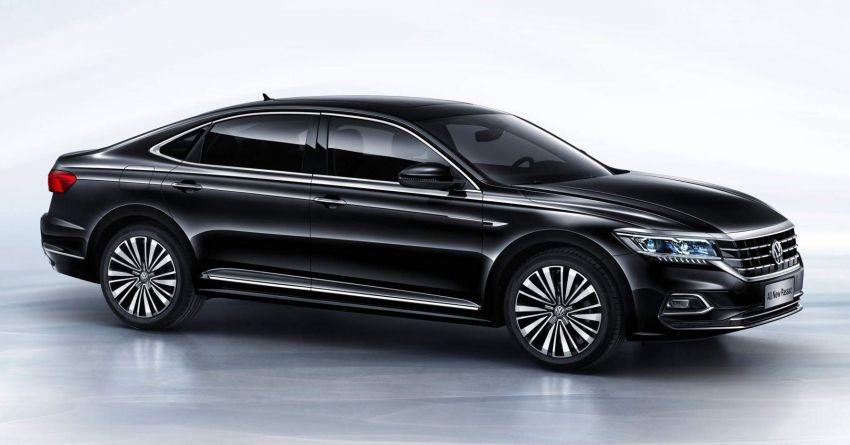 2019 Volkswagen Passat NMS debuts for China market Image #873834
