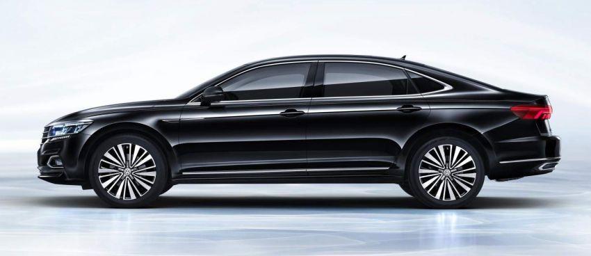 Volkswagen Passat NMS 2019 diperkenalkan di pasaran China – lebih besar, gaya seperti Arteon Image #873951