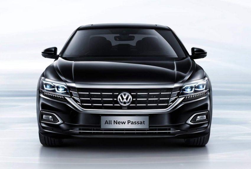 Volkswagen Passat NMS 2019 diperkenalkan di pasaran China – lebih besar, gaya seperti Arteon Image #873950