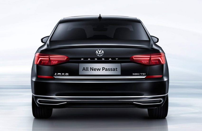 2019 Volkswagen Passat NMS debuts for China market Image #873837