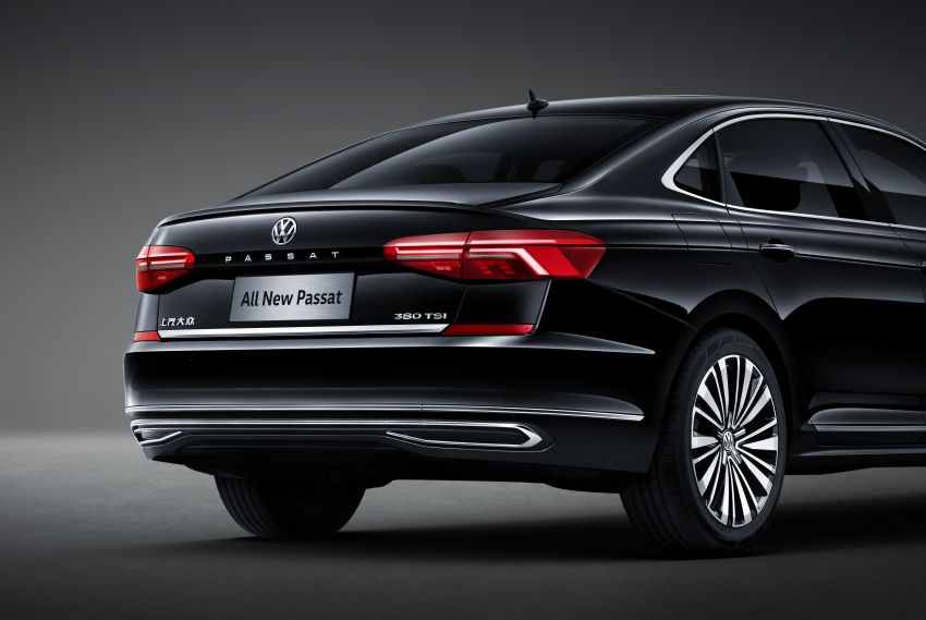Volkswagen Passat NMS 2019 diperkenalkan di pasaran China – lebih besar, gaya seperti Arteon Image #873948