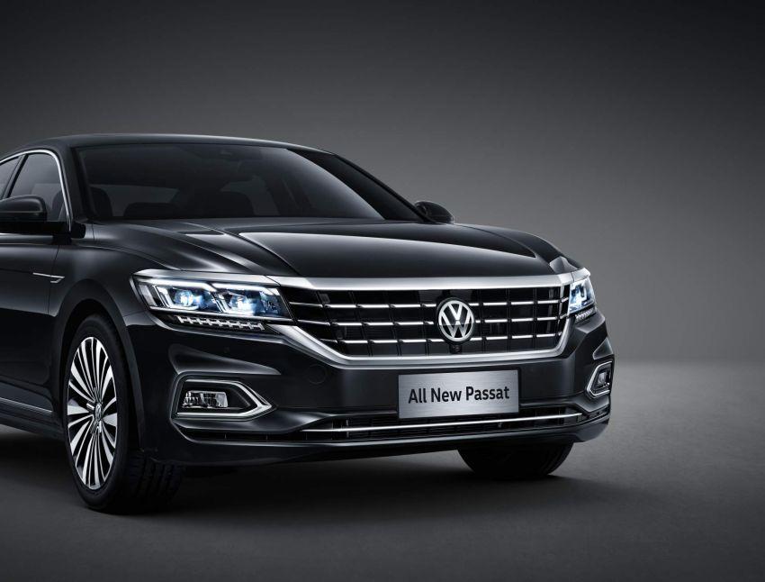 Volkswagen Passat NMS 2019 diperkenalkan di pasaran China – lebih besar, gaya seperti Arteon Image #873947