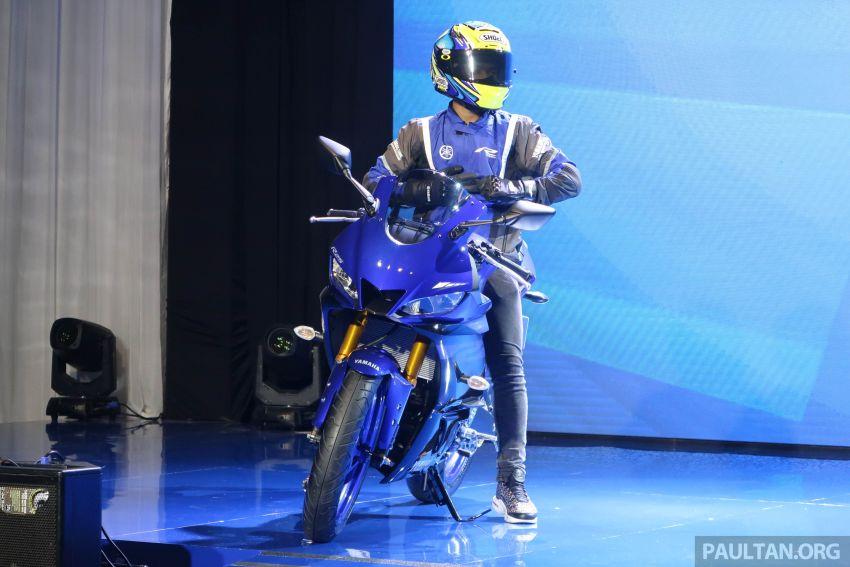 2019 Yamaha YZF-R25 world premiere – 8 km/h faster Image #872127