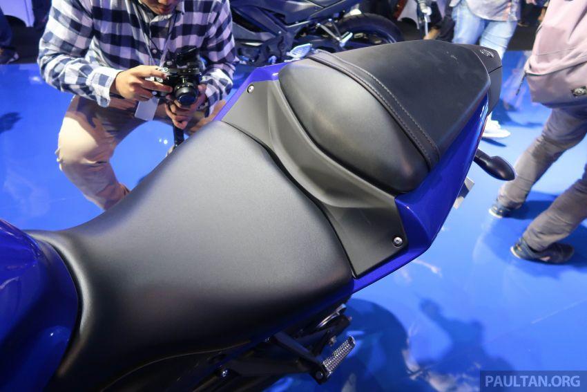 2019 Yamaha YZF-R25 world premiere – 8 km/h faster Image #872143