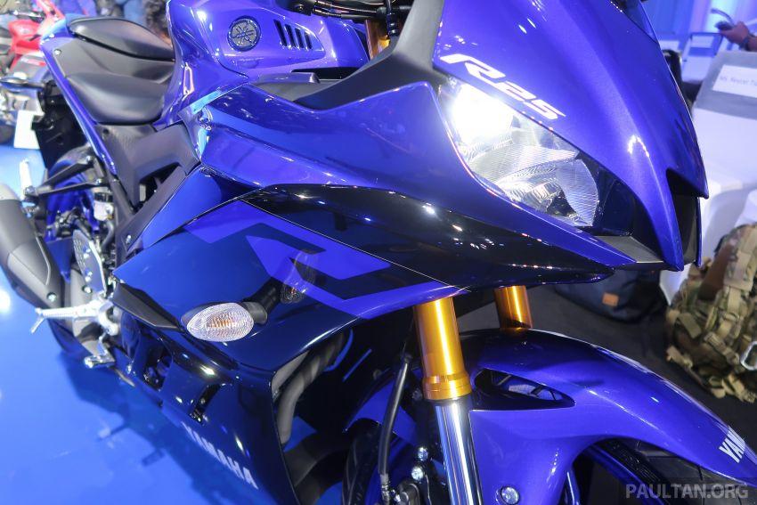 2019 Yamaha YZF-R25 world premiere – 8 km/h faster Image #872144