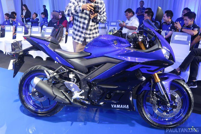 2019 Yamaha YZF-R25 world premiere – 8 km/h faster Image #872145