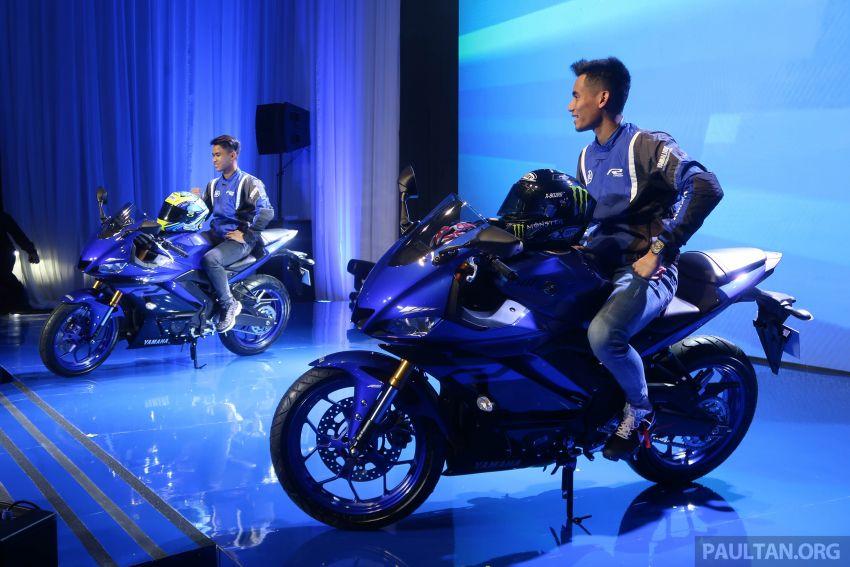 2019 Yamaha YZF-R25 world premiere – 8 km/h faster Image #872128
