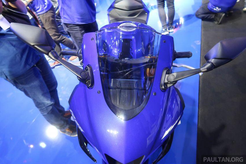 2019 Yamaha YZF-R25 world premiere – 8 km/h faster Image #872154