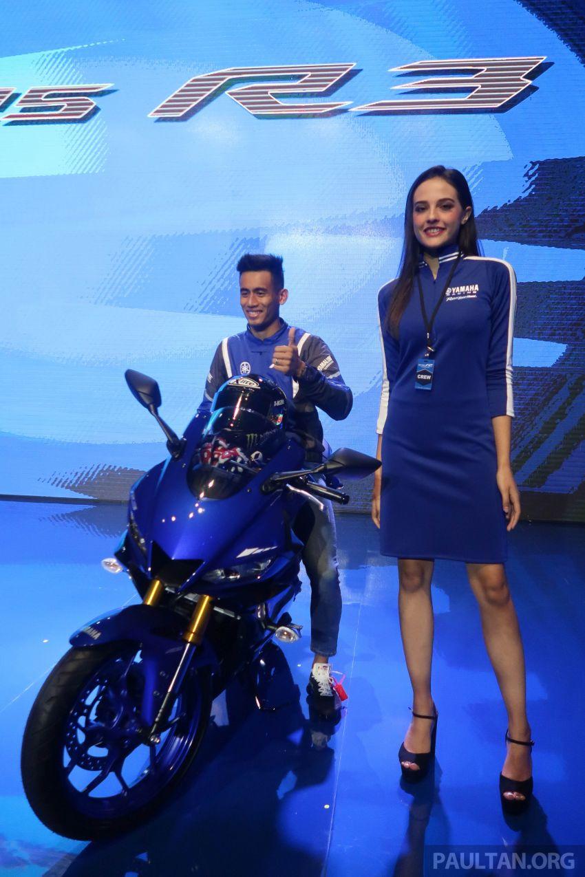 2019 Yamaha YZF-R25 world premiere – 8 km/h faster Image #872130