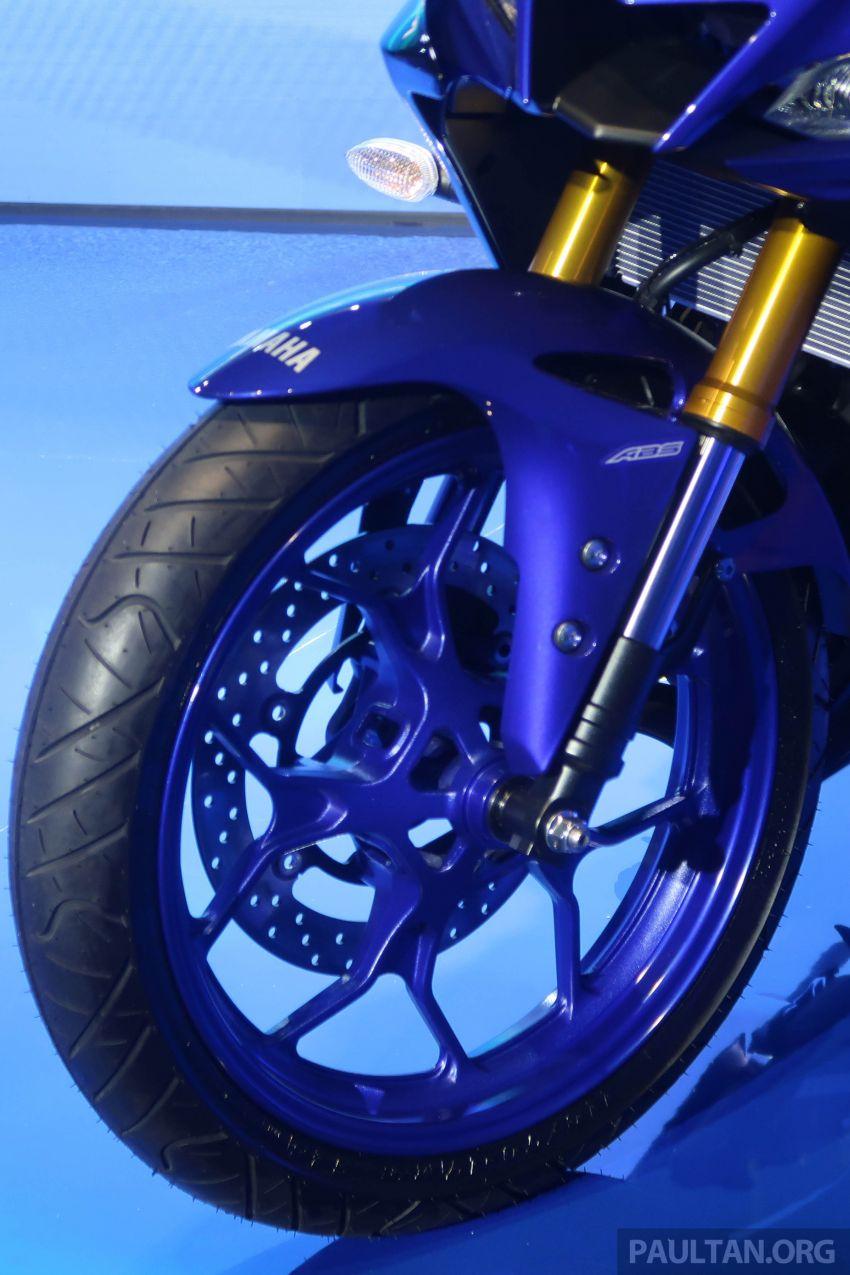 2019 Yamaha YZF-R25 world premiere – 8 km/h faster Image #872131