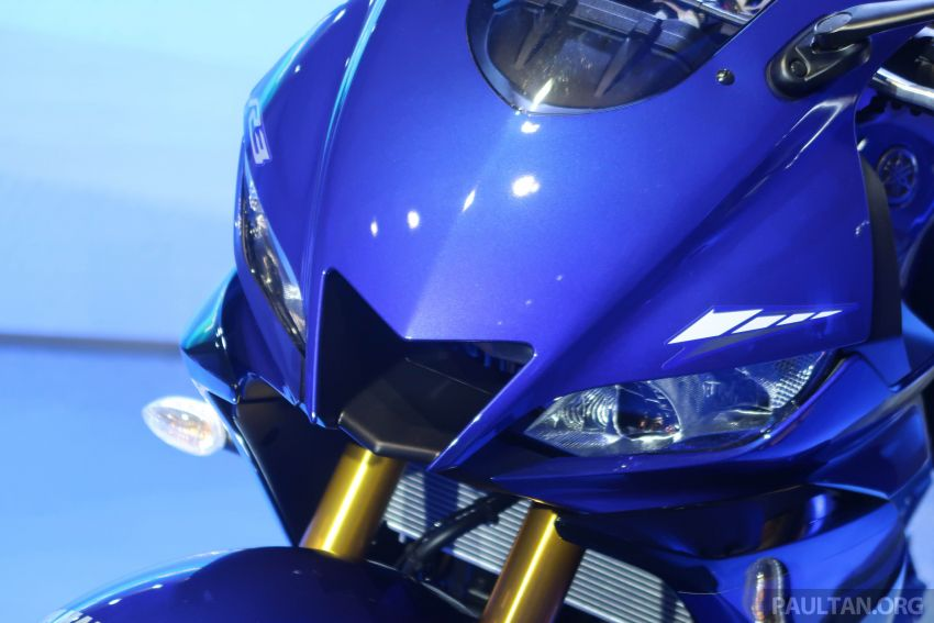 2019 Yamaha YZF-R25 world premiere – 8 km/h faster Image #872132