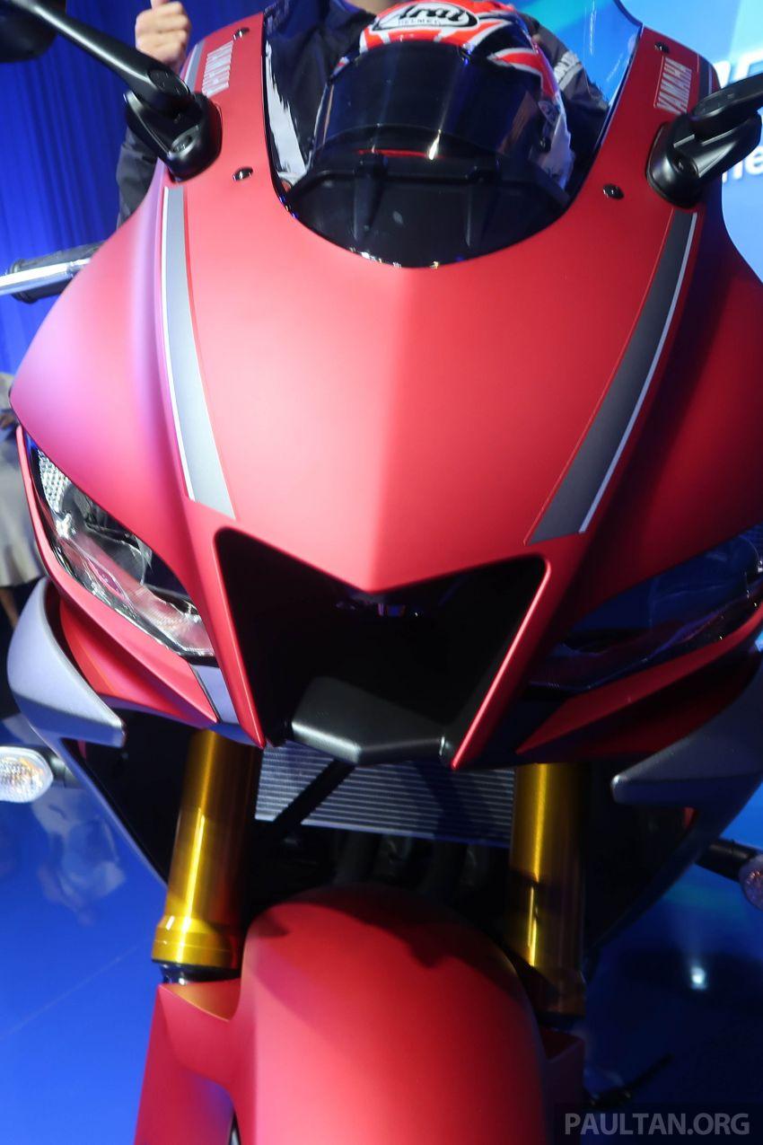 2019 Yamaha YZF-R25 world premiere – 8 km/h faster Image #872134
