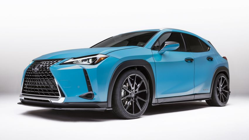 Lexus goes to SEMA 2018 with five custom models Image #880566