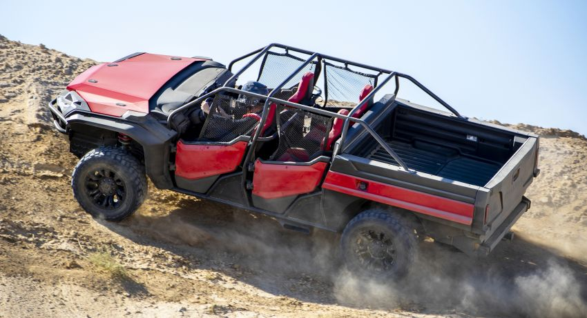 Honda Rugged Open Air Vehicle concept debuts at SEMA – an edgy mix of the Ridgeline and Pioneer 1000 Image #881081