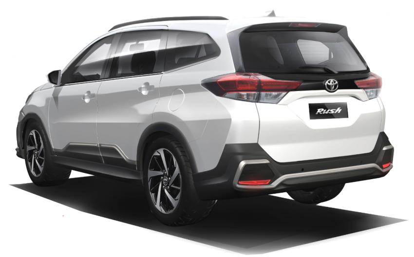 Toyota Rush 2018 rasmi dilancarkan di Malaysia – 7-tempat duduk, 1.5L, dua varian, harga RM93k-RM98k Image #874512