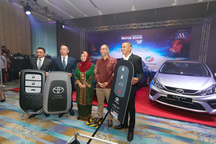 KLIMS 2018 – back after five-year hiatus, visitors stand to win Toyota C-HR, Honda City, Perodua Myvi, flights Image #873221