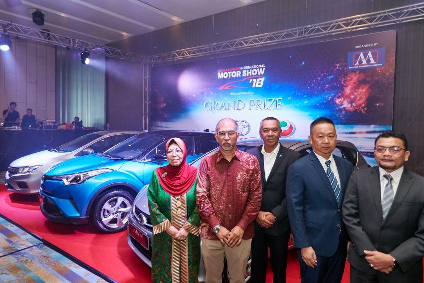 KLIMS 2018: Kembali selepas lima tahun – tiket RM20 tawar hadiah Toyota C-HR, Honda City, Perodua Myvi Image #873409