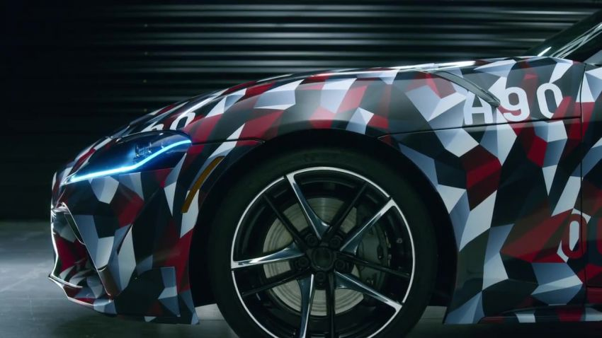A90 Toyota Supra confirmed for debut at 2019 Detroit Auto Show – online reservations now open in Europe Image #868666