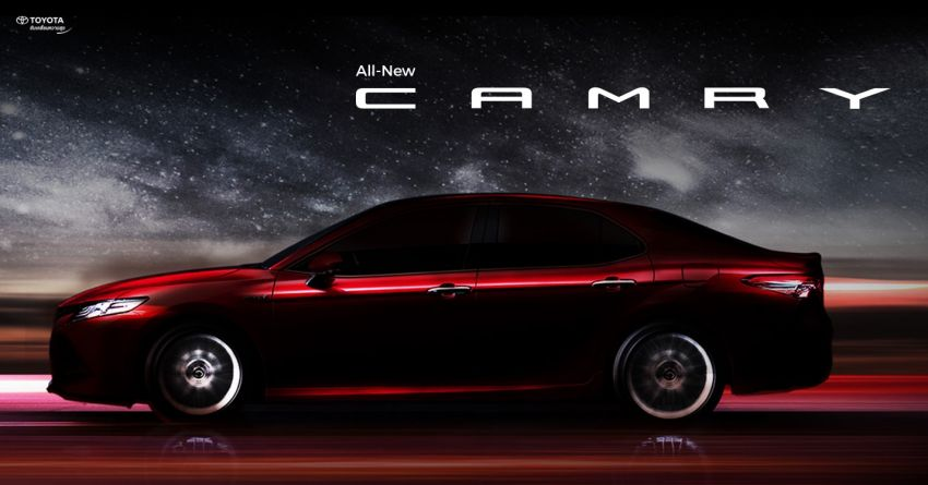 2018 Toyota Camry launching in Thailand on Oct 29 Image #875849