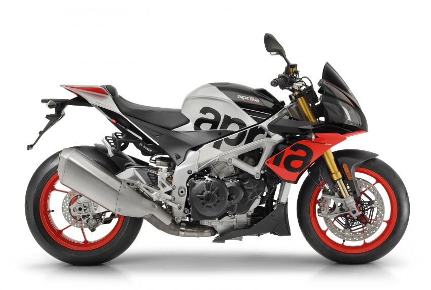 2019 Aprilia RSV4 RR, Tuono V4 Factory and Shiver 900 at Intermot – electronic suspension, new graphics Image #868681
