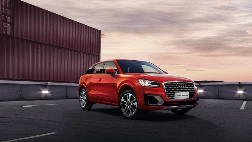 Audi Q2 L – compact SUV gains LWB version in China Image #876083