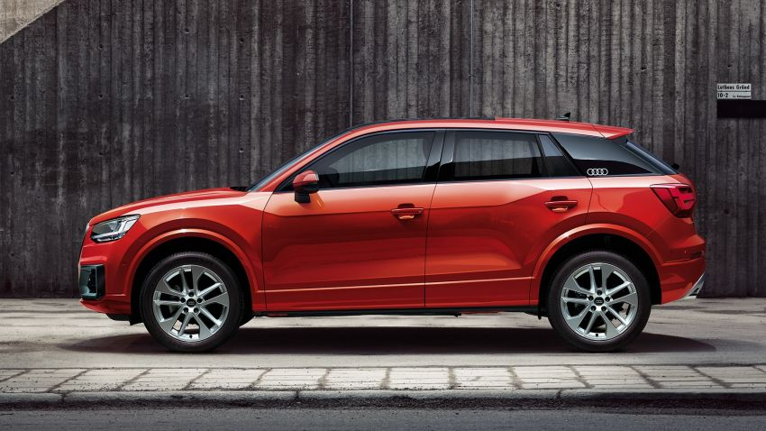 Audi Q2 L – compact SUV gains LWB version in China Image #876084