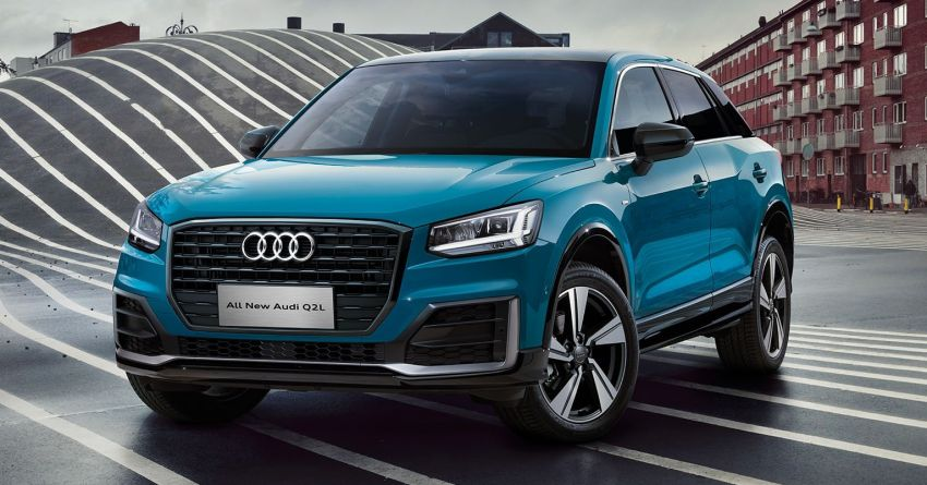 Audi Q2 L – compact SUV gains LWB version in China Image #876086