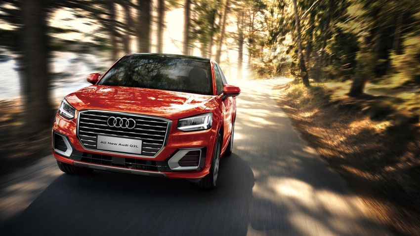 Audi Q2 L – compact SUV gains LWB version in China Image #876087