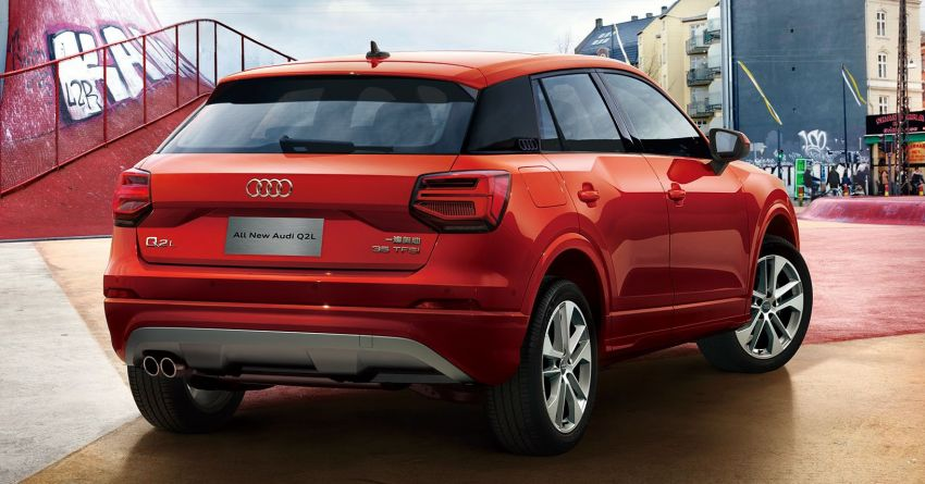 Audi Q2 L – compact SUV gains LWB version in China Image #876088