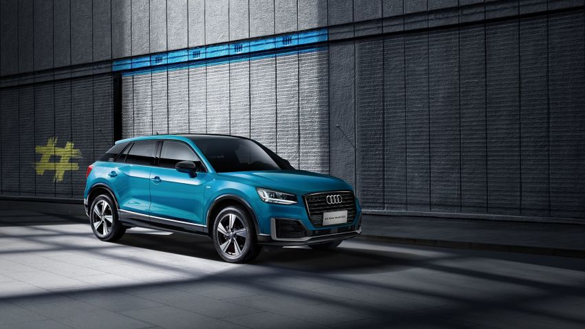 Audi Q2 L – compact SUV gains LWB version in China Image #876089