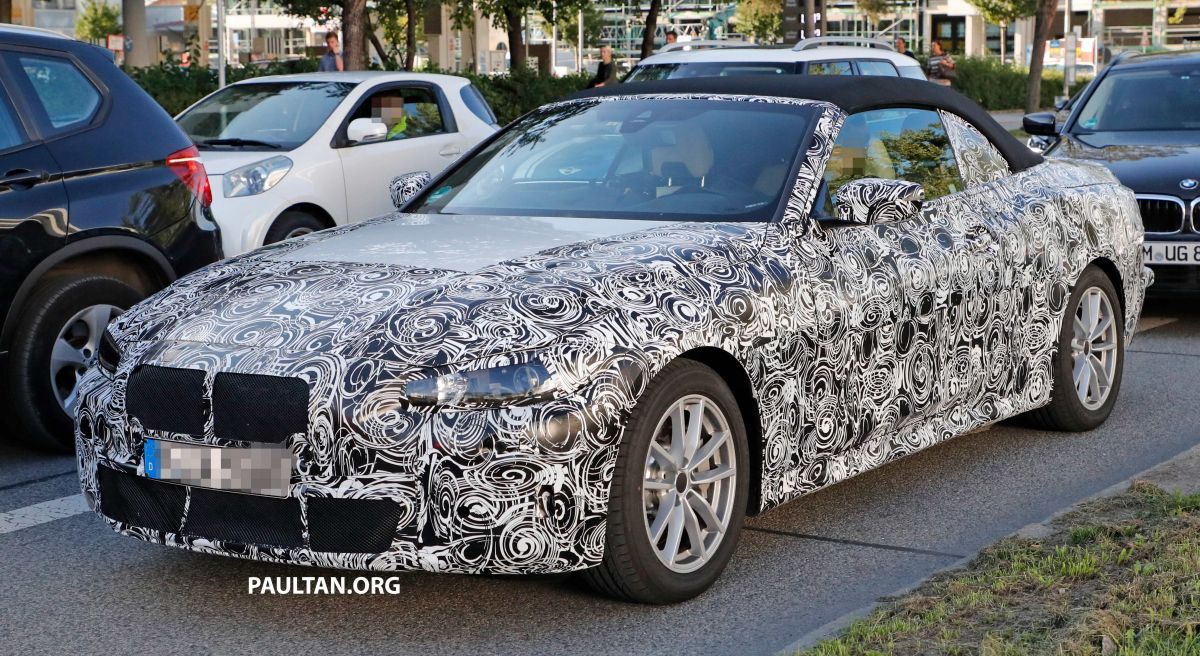 Spied G22 Bmw 4 Series Convertible Seen Up Close
