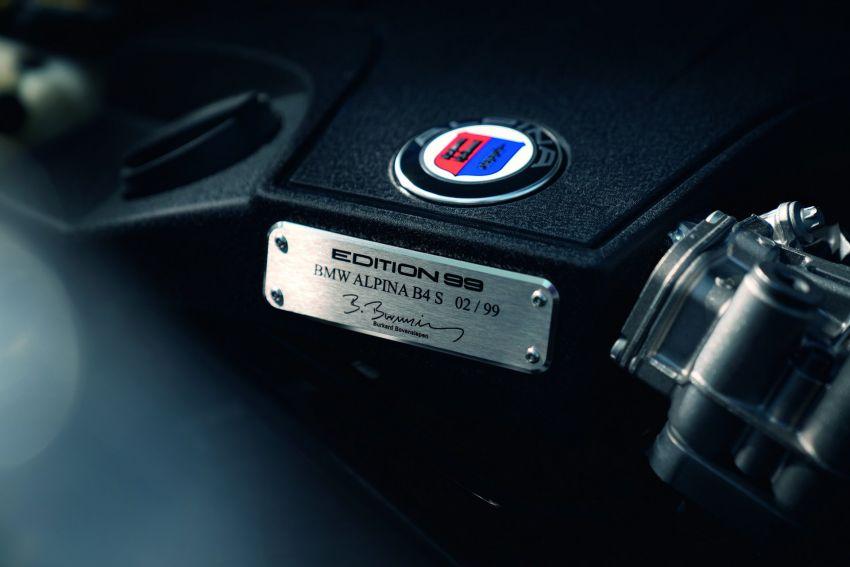 BMW Alpina B4 S Bi-Turbo Edition 99 diperkenalkan – 445 hp/680 Nm, sistem ekzos Akrpovic, hanya 99-unit Image #879625
