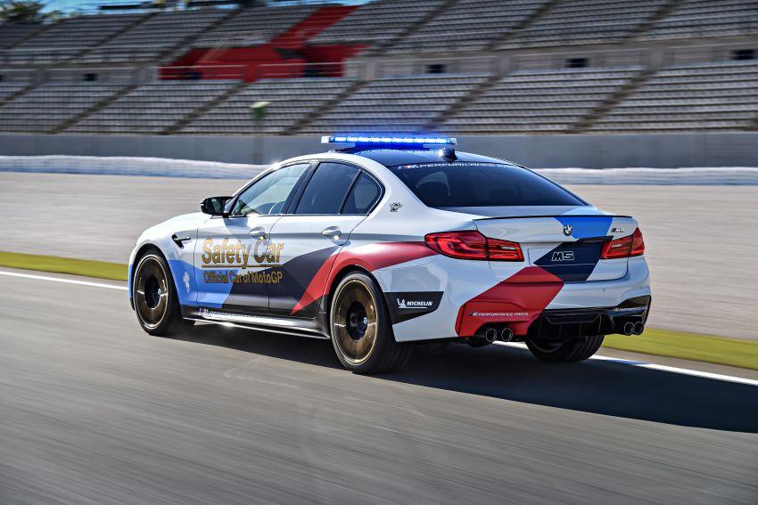 BMW M5 peronda MotoGP akan dibawa pusing KL Image #880086