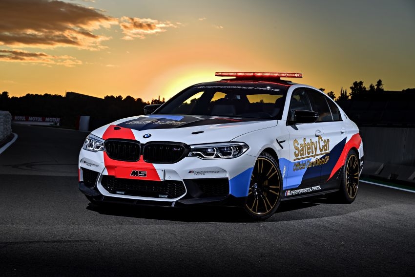 BMW M5 peronda MotoGP akan dibawa pusing KL Image #880089