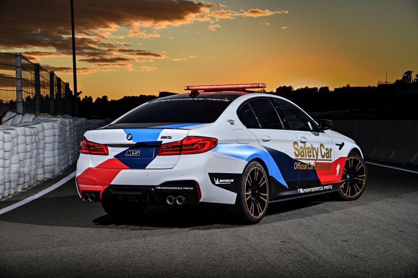 BMW M5 peronda MotoGP akan dibawa pusing KL Image #880090