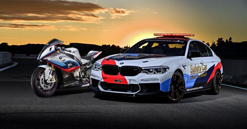 BMW M5 peronda MotoGP akan dibawa pusing KL Image #880092
