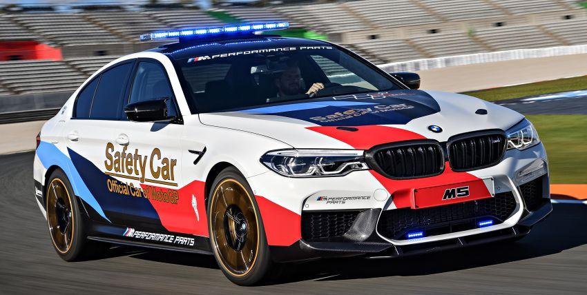 BMW M5 peronda MotoGP akan dibawa pusing KL Image #880093
