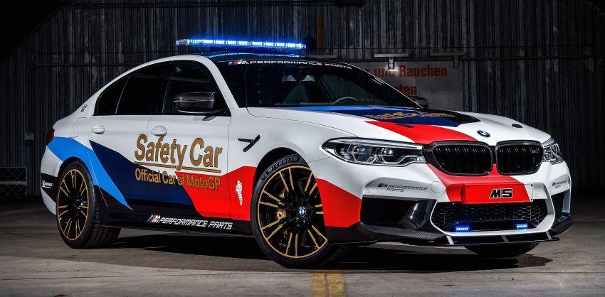 BMW M5 peronda MotoGP akan dibawa pusing KL Image #880075