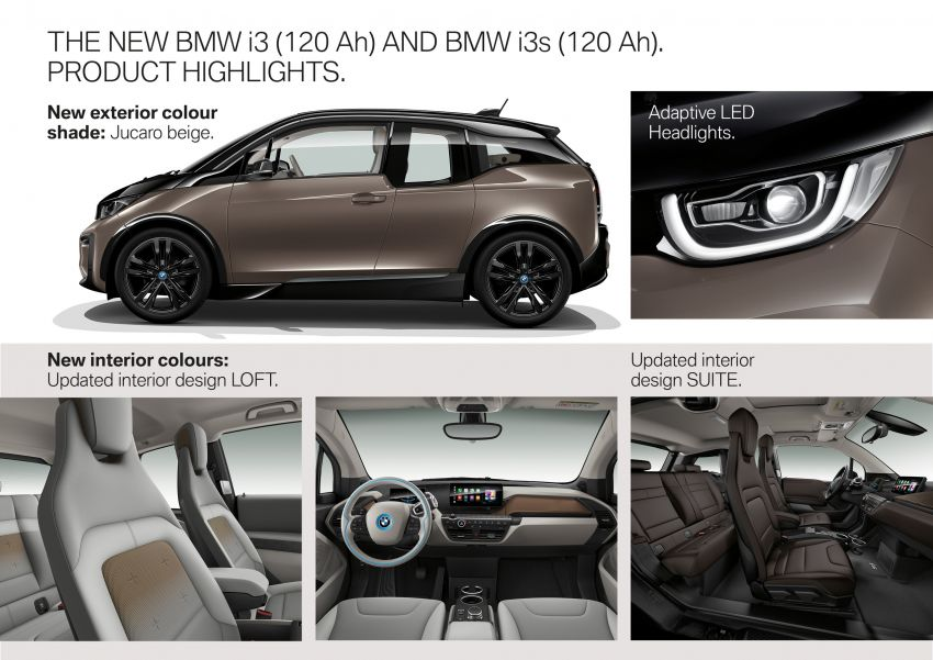 BMW i3 receives 120 Ah battery – up to 359 km range Image #867796