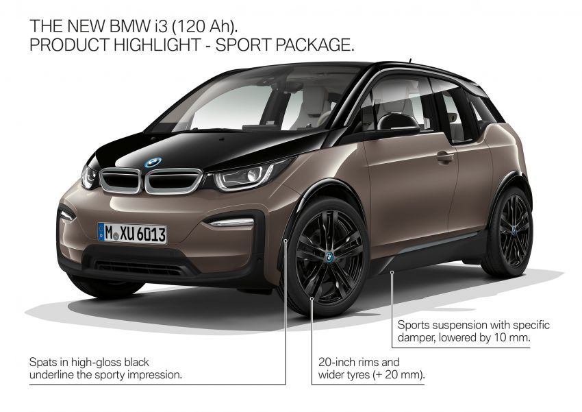 BMW i3 receives 120 Ah battery – up to 359 km range Image #867797