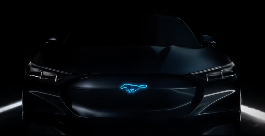 Ford drops teaser of new Mustang hybrid in a video Image #876031