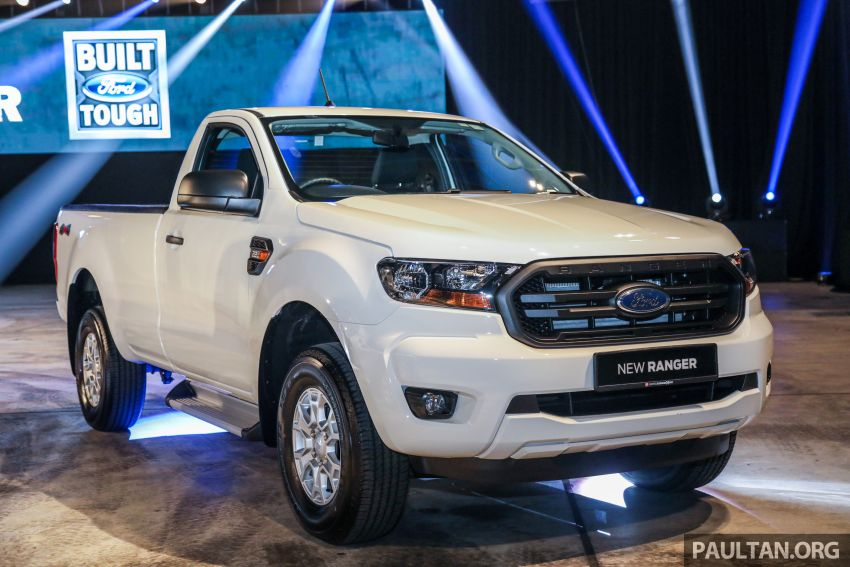 New Ford Ranger 2018 >> 2019 Ford Ranger range launched in Malaysia with new 2.0 Bi-Turbo engine and 10-speed auto ...