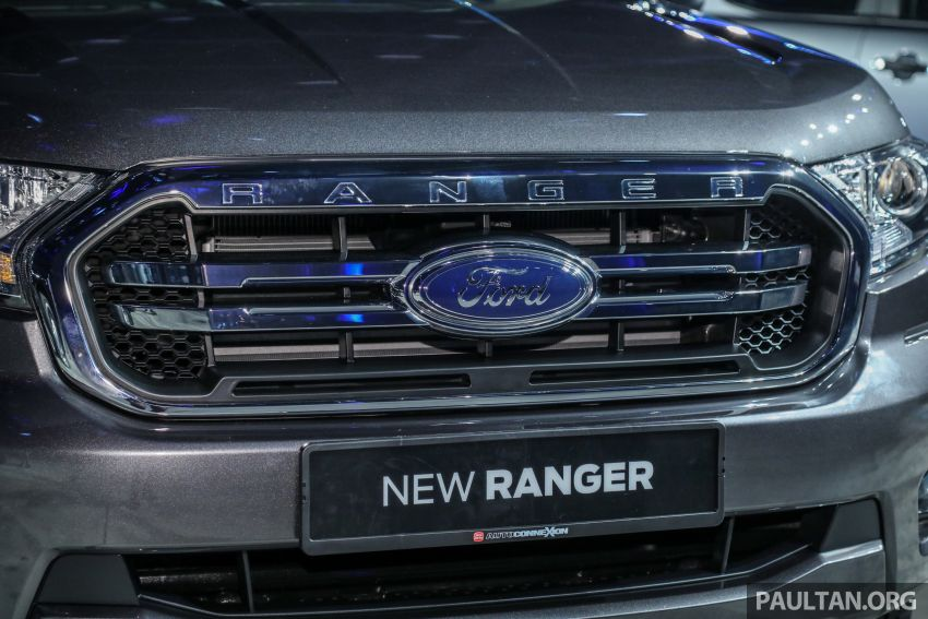 Ranger Ford 2018 >> 2019 Ford Ranger range launched in Malaysia with new 2.0 Bi-Turbo engine and 10-speed auto ...