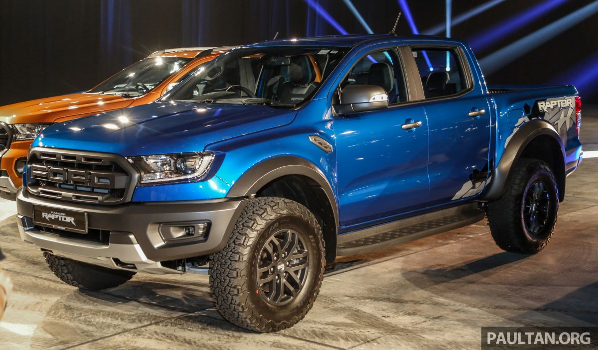 ford ranger raptor on preview to be shown at klims. Black Bedroom Furniture Sets. Home Design Ideas