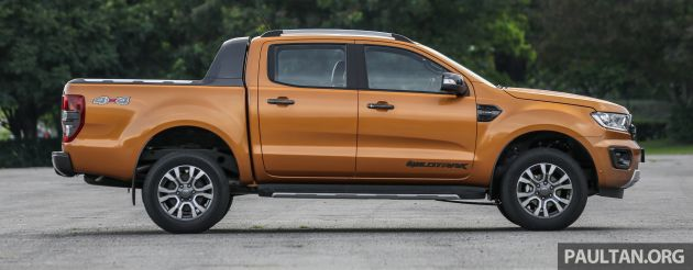2019 Ford Ranger Range Launched In Malaysia With New 2 0 Bi Turbo