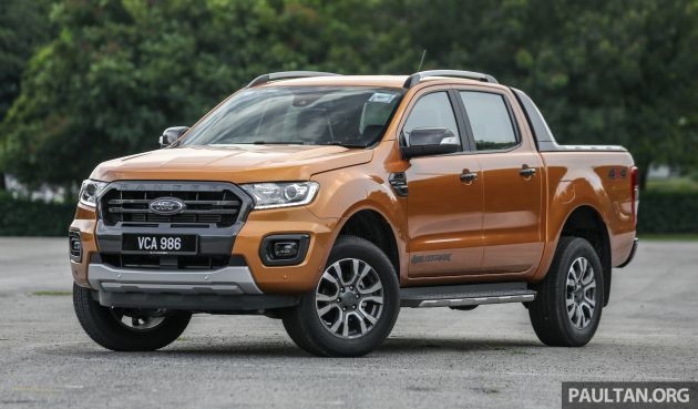 pick up a45ae 5facb 2019 Ford Ranger range launched in Malaysia with new 2.0 Bi-Turbo engine  and 10-speed auto – from RM91k