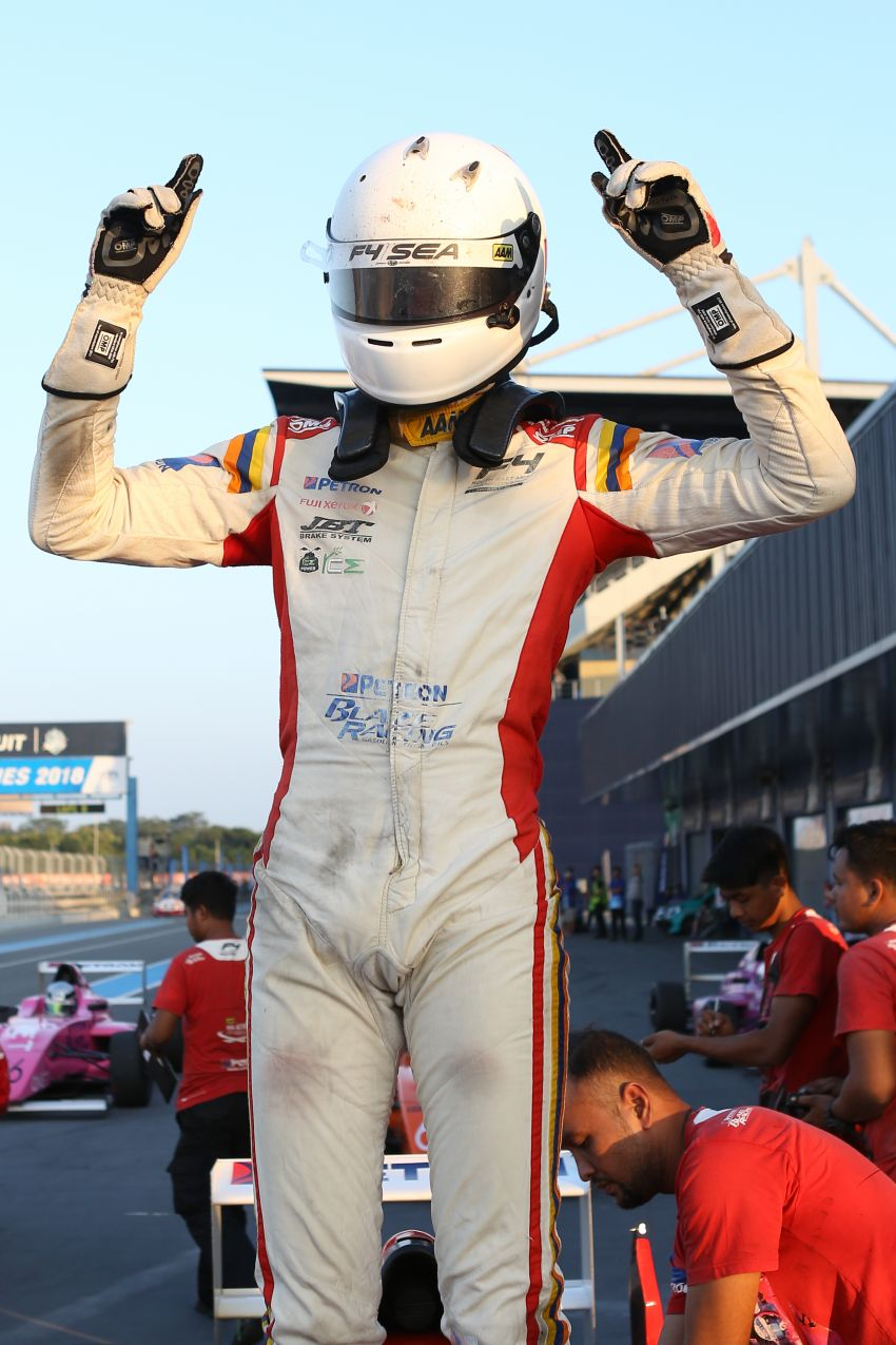 Formula 4 SEA – Ghiretti wins 5 out of 6 races in Thailand, Malaysia's Yoong and Musyaffa on podium Image #880990