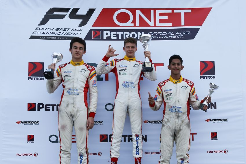 Formula 4 SEA – Ghiretti wins 5 out of 6 races in Thailand, Malaysia's Yoong and Musyaffa on podium Image #880991
