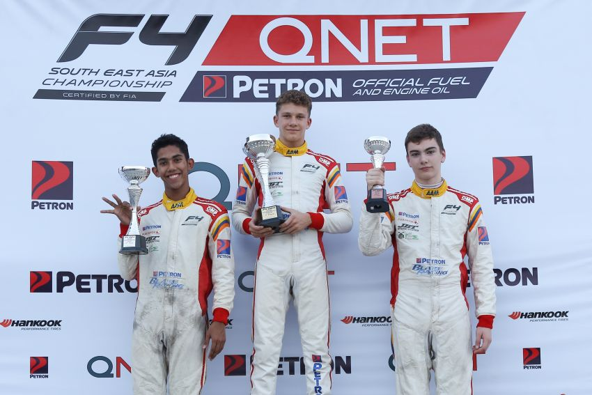 Formula 4 SEA – Ghiretti wins 5 out of 6 races in Thailand, Malaysia's Yoong and Musyaffa on podium Image #880992